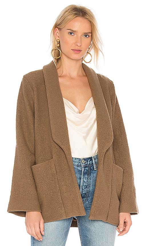 APIECE APART Big Sur Soft Blazer in Brown. - size M (also in S)
