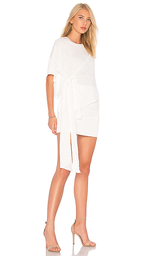 AQ/AQ Lexi Dress in White
