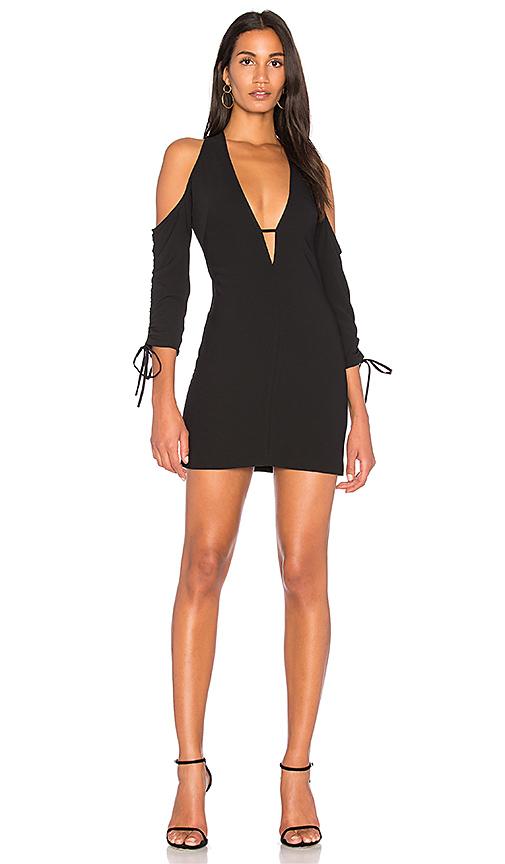 AQ/AQ Oleena Dress in Black