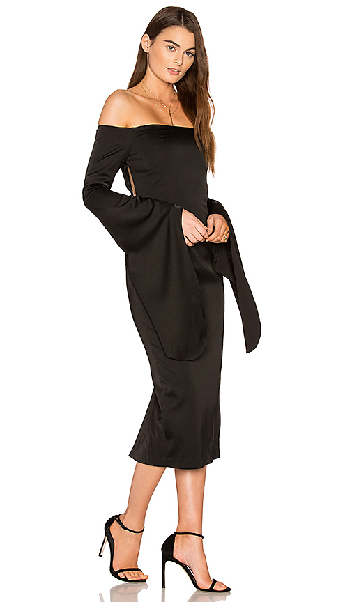 ASILIO The Shiralee Dress in Black