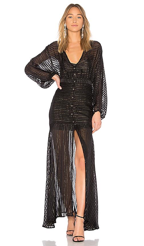 ASILIO Star Fall Dress in Black