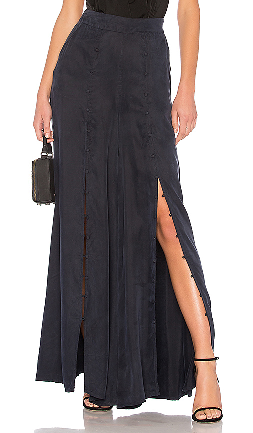 ASILIO As Promised Flare Pants in Navy. - size XS (also in L,M,S)