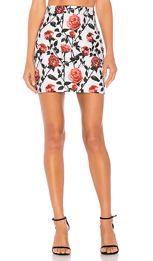 ASILIO Case Of Roses Skirt in White. - size XS (also in S)