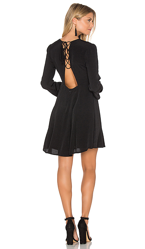 ASTR Mabel Dress in Black. - size M (also in S,XS)