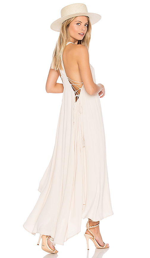 ASTR Victoria Dress in Ivory. - size L (also in M,S)