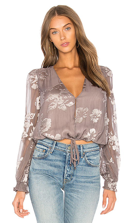 ASTR Tiffany Top in Taupe