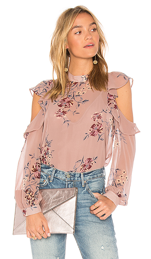 ASTR Chantelle Top in Pink