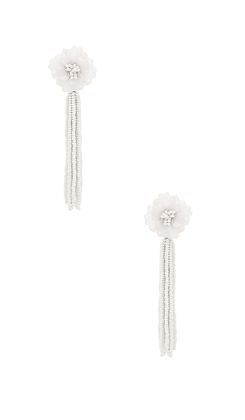 All Things Mochi The Jacinta Earrings in White