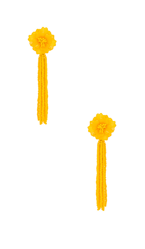 All Things Mochi The Jacinta Earrings in Yellow