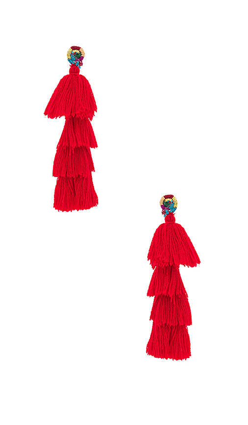 All Things Mochi x REVOLVE The Ittou Earrings in Red
