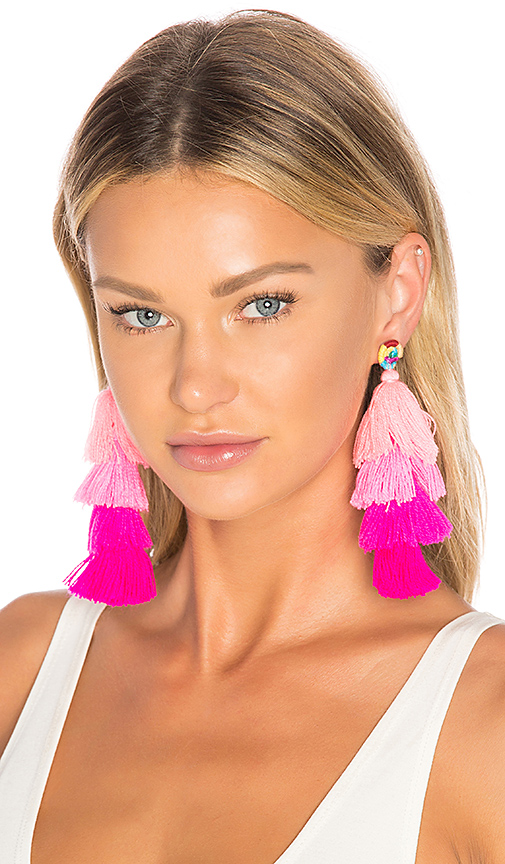 All Things Mochi Ittou Earrings in Pink