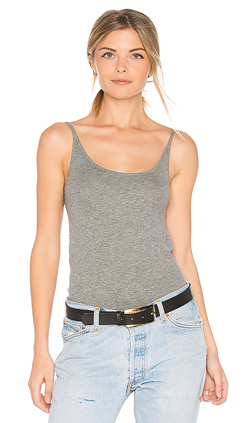 ATM Anthony Thomas Melillo Rib Cami in Gray. - size M (also in S,XS)