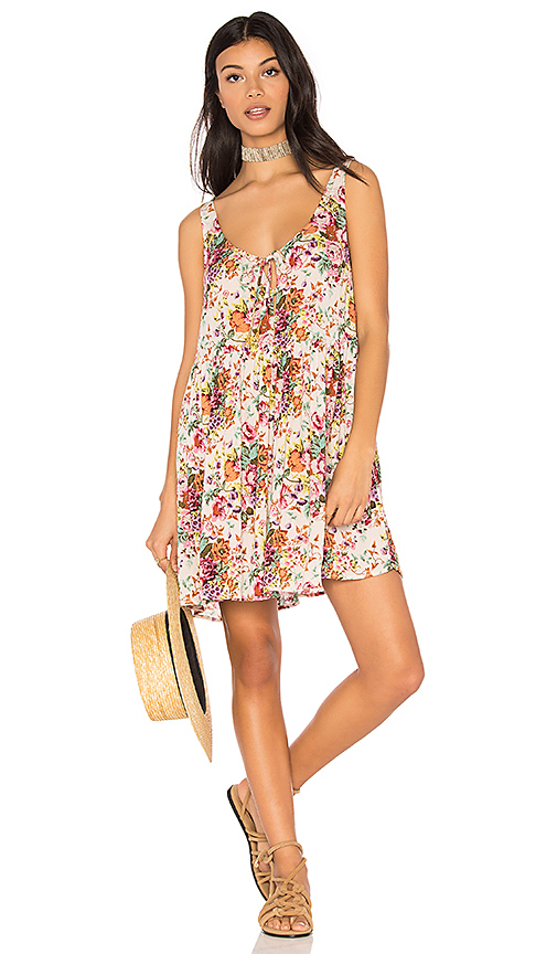 AUGUSTE Long Beach Market Day Dress in White