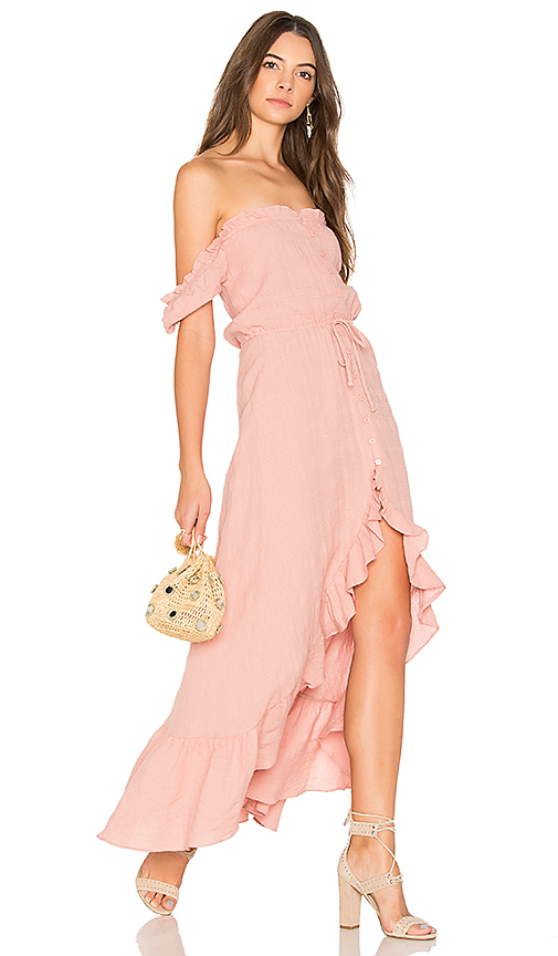 AUGUSTE Willow Day Dress in Pink
