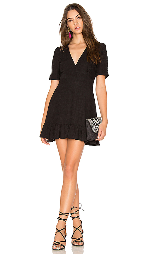 AUGUSTE Stevie Play Dress in Black
