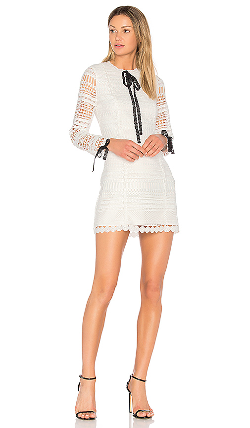 Alexis Braelynn Dress in White