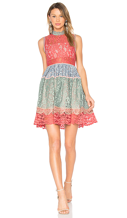 Alexis Vedette Dress in Pink