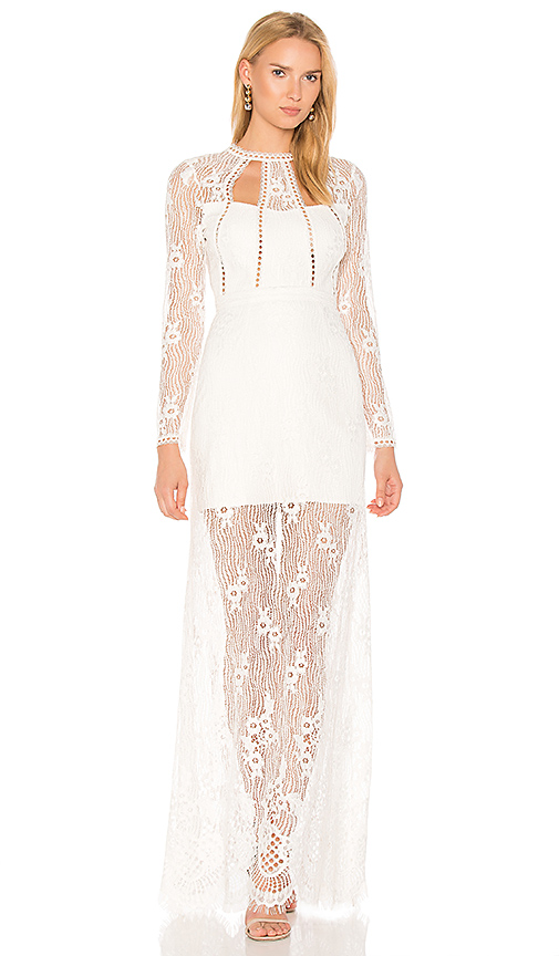 Alexis Rizer Gown in White