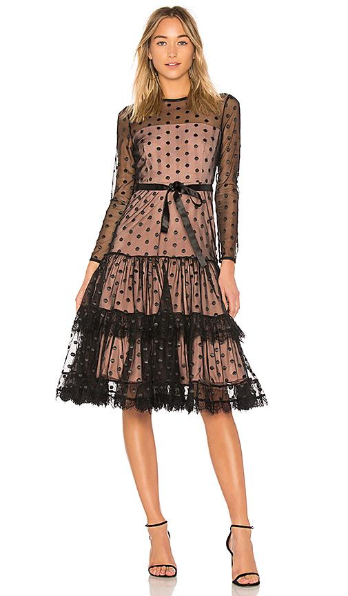 Alexis Tiara Dress in Black