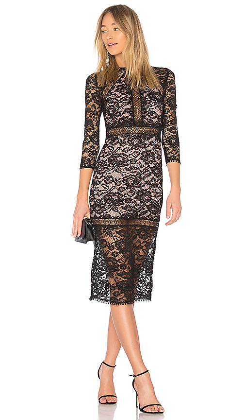 Alexis Marisa Dress in Black. - size XS (also in L,M,S)