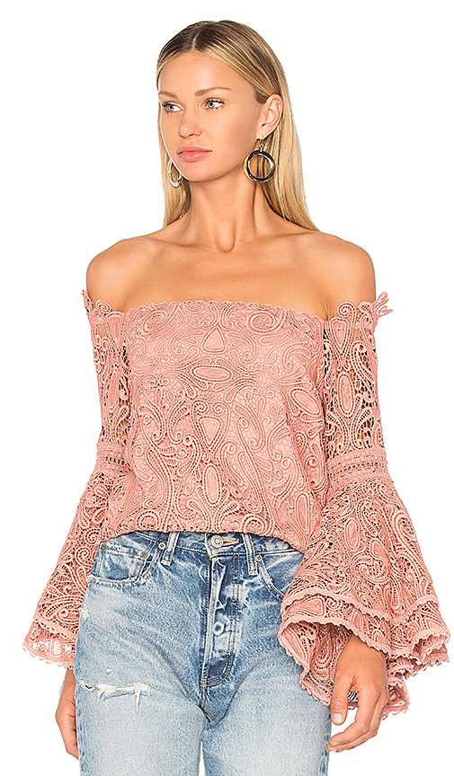 Alexis Thea Top in Blush