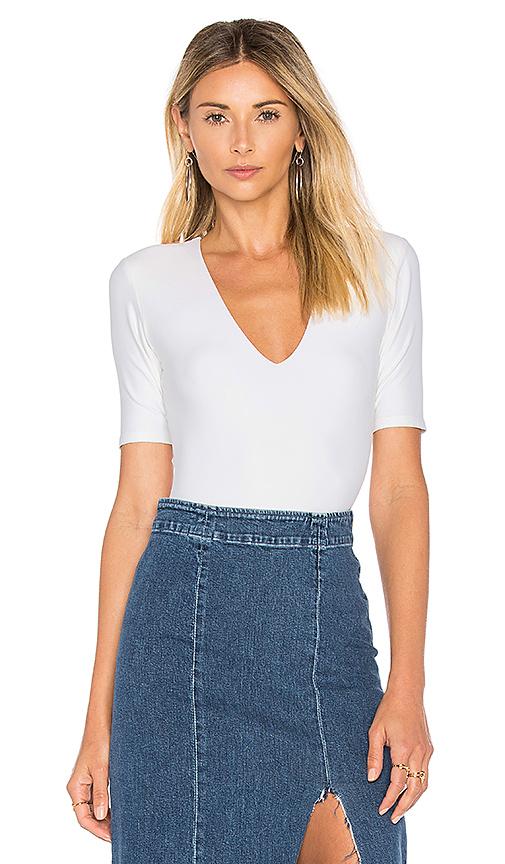 Alix Ludlow Bodysuit in White. - size S (also in XS)