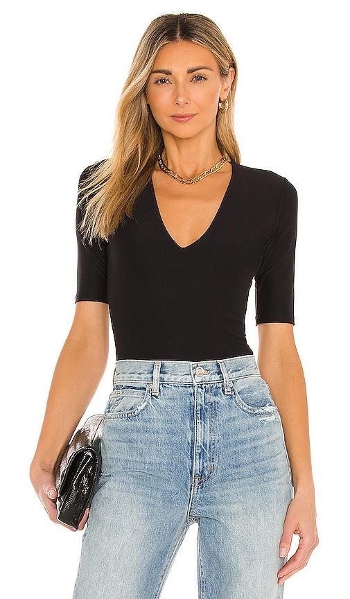 Alix Ludlow Bodysuit in Black. - size S (also in XS)