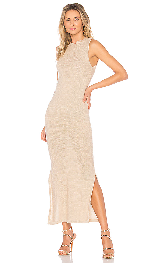 AYNI Feldespato Dress in Beige