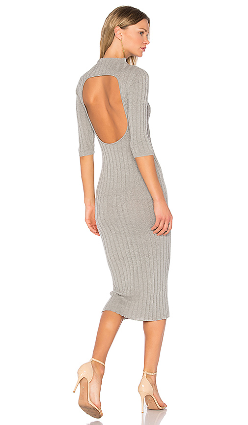 AYNI Nieves Sweater Dress in Gray. - size L (also in M,S,XS)