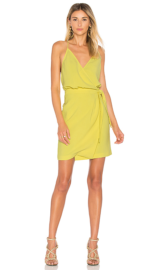 Photo of ba & sh Justine Dress in Yellow - shop ba & sh dresses sales