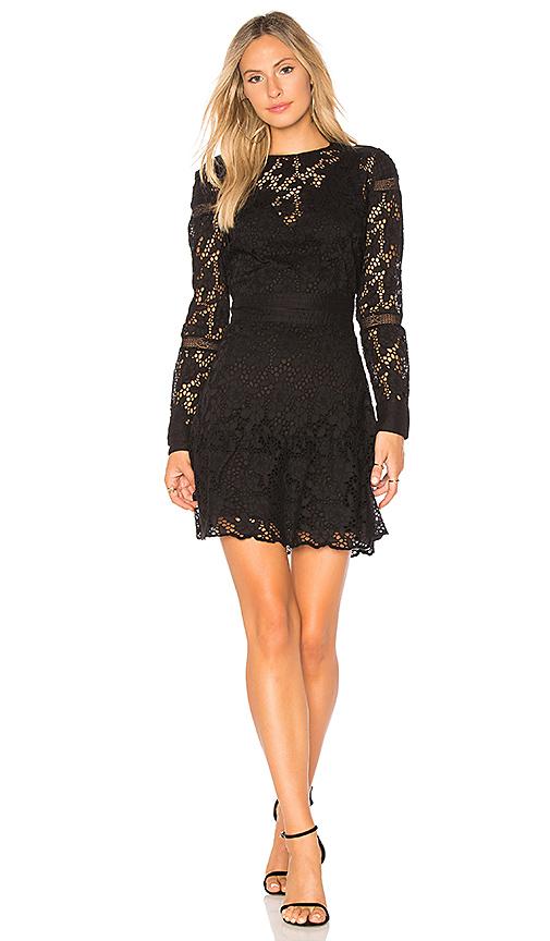 ba & sh Aphrodite Dress in Black