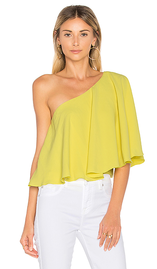 ba & sh Jules Top in Yellow