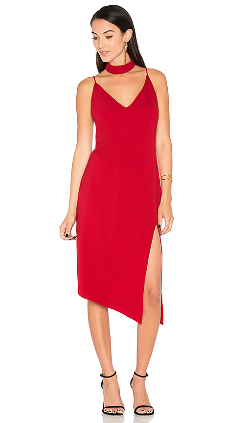 Backstage Nena Dress in Red