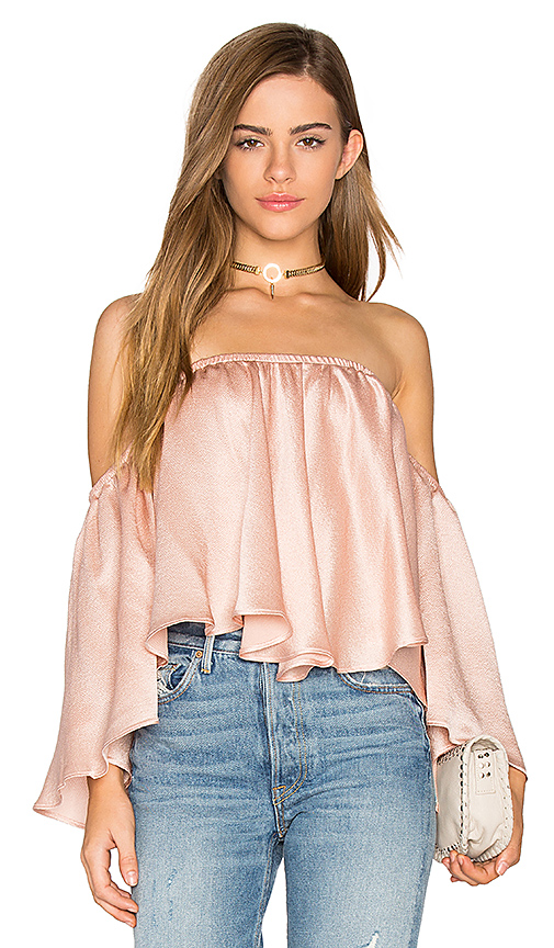 Backstage Rianna Top in Rose