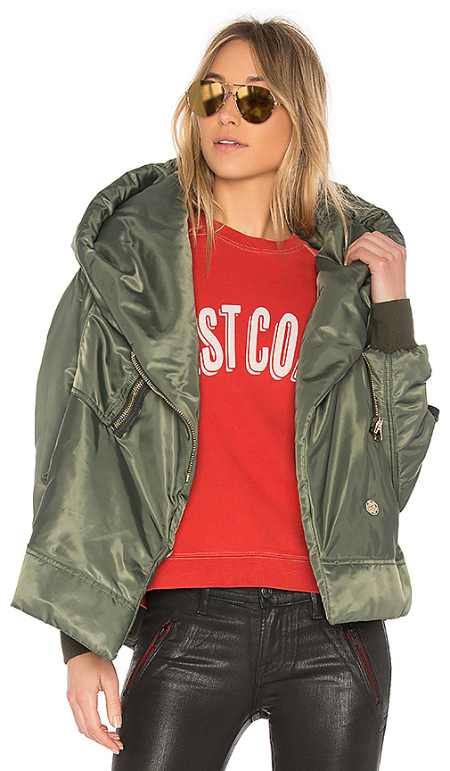 Bacon Big Bomber 62 Jacket in Green