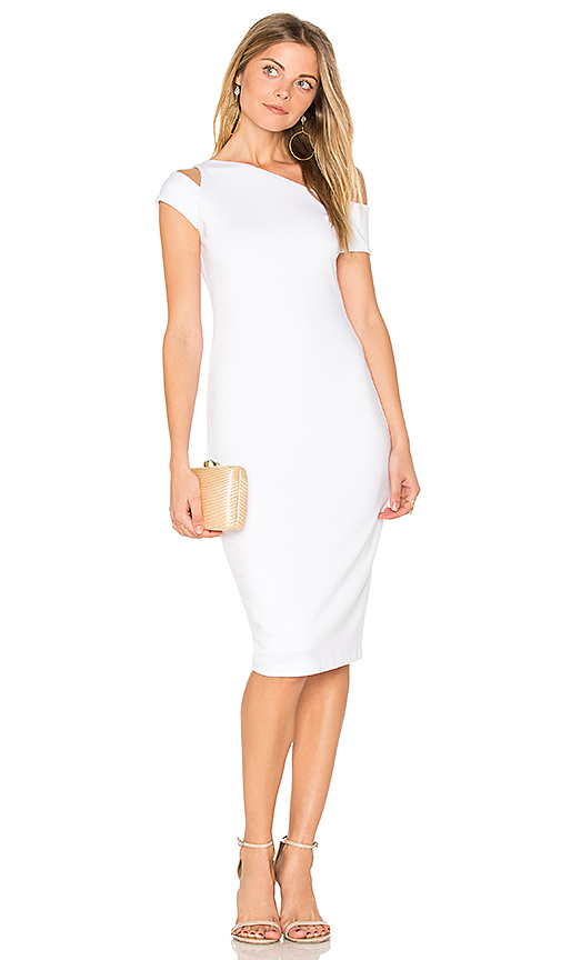 Bailey 44 Caribbean Dress in White
