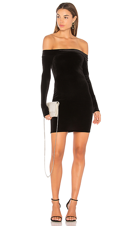 Bailey 44 Stroke of Midnight Body Con Dress in Black