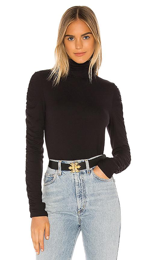Bailey44 Sweaters BAILEY 44 ALLEGRA T NECK SWEATER IN BLACK.