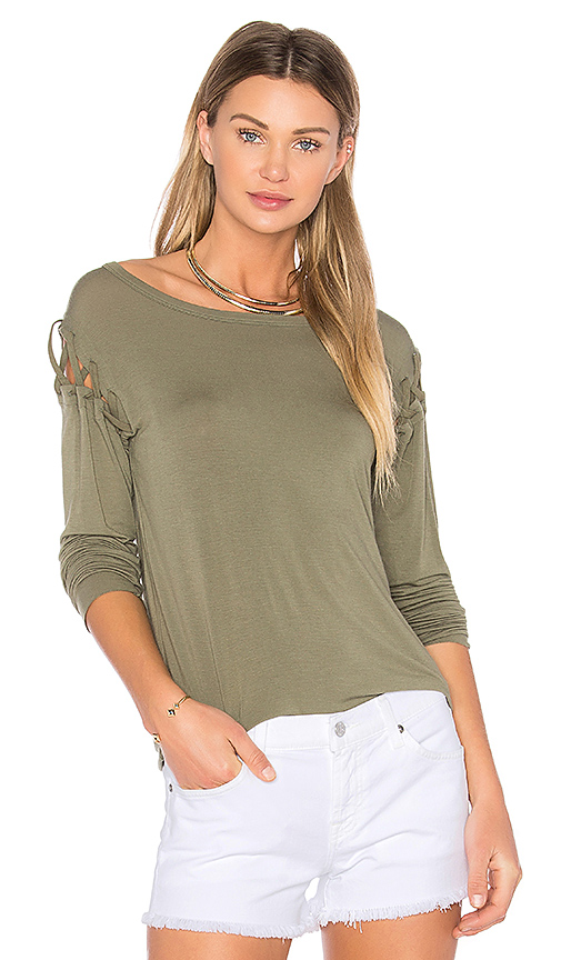 Bailey 44 Old Havana Top in Olive