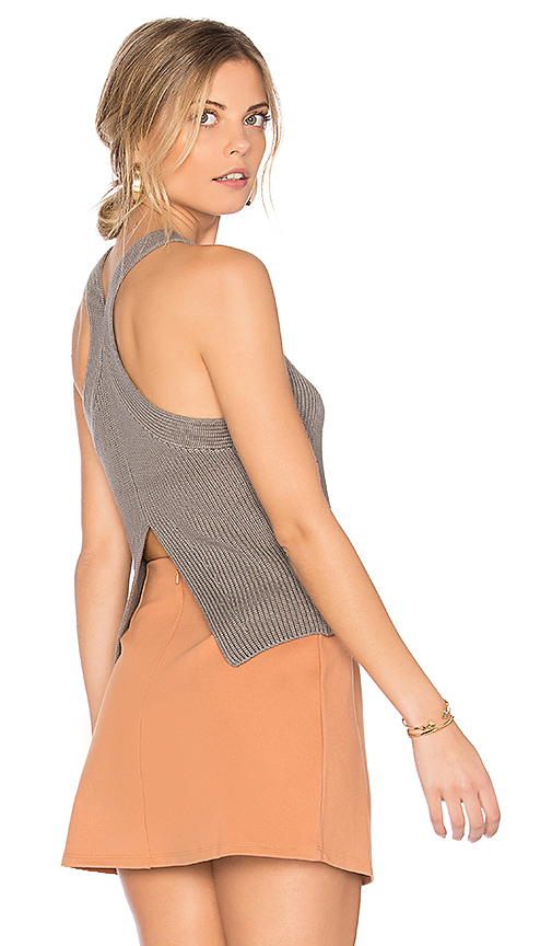 Bailey 44 Steeplechase Sweater Tank in Gray