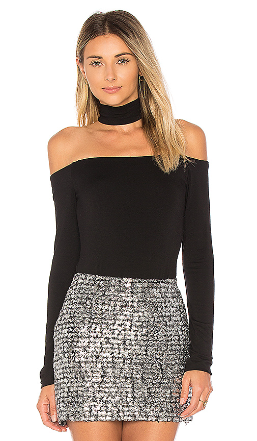 Bailey 44 Hold Court Turtleneck Top in Black