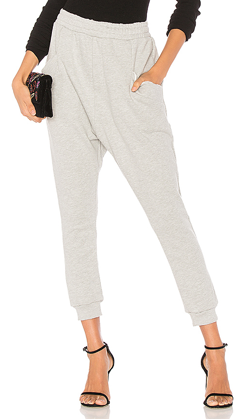 Baja East Harem Joggers in Gray. - size 0 (also in 00,1,2)
