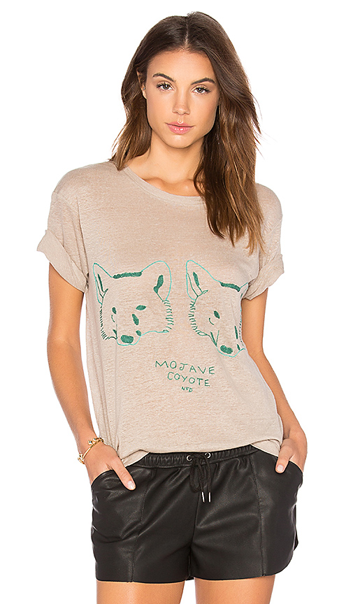 Banner Day Mojave Coyote Tee in Gray