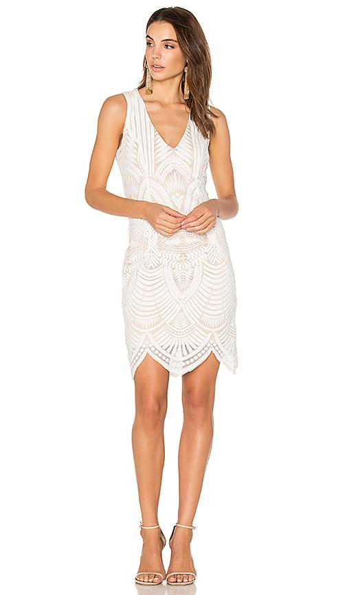 Floral Wrap Dress in White. - size Aus 10 / US S (also in Aus 12 / US M,Aus 8 / US XS) Bardot