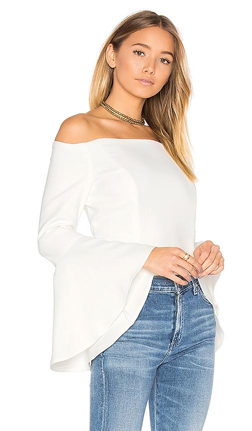 Bardot Solange Bustier in White