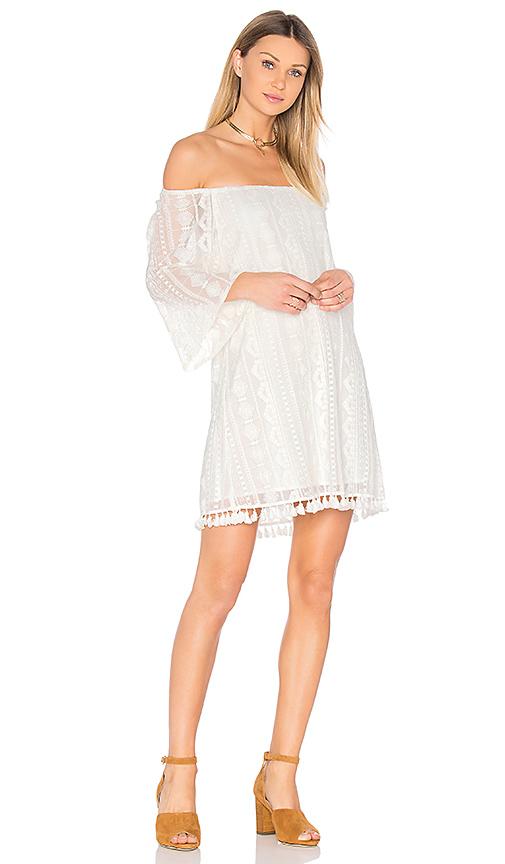 BB Dakota Jack by BB Dakota Denney Dress in White