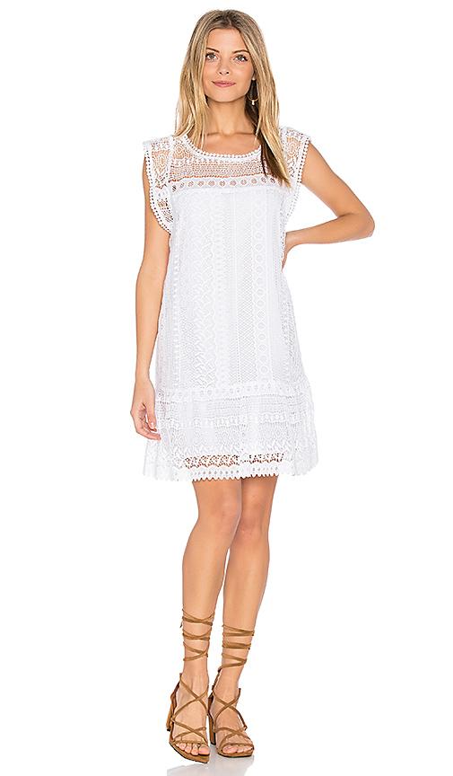 BB Dakota Milo Dress in White