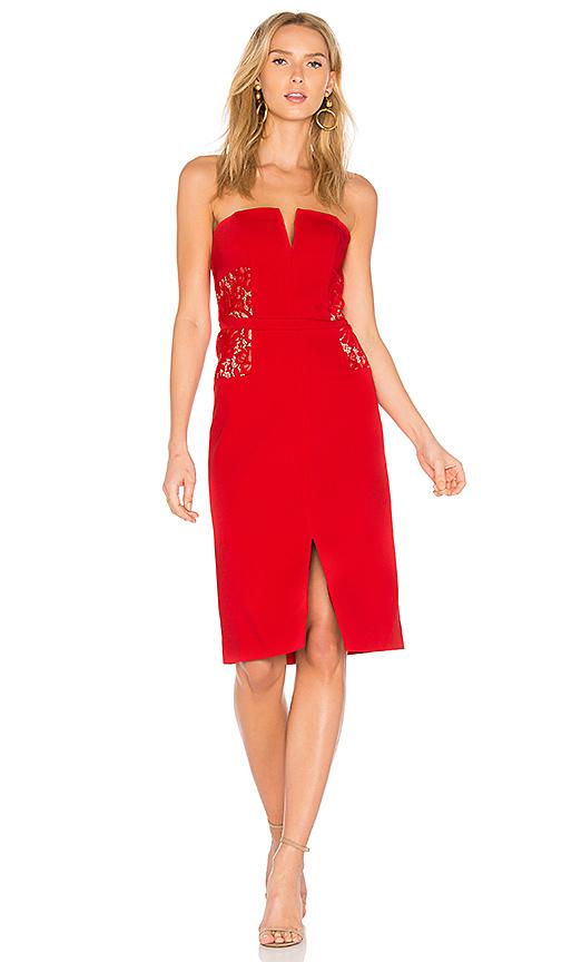 BB Dakota RSVP by BB Dakota Zina Dress in Red