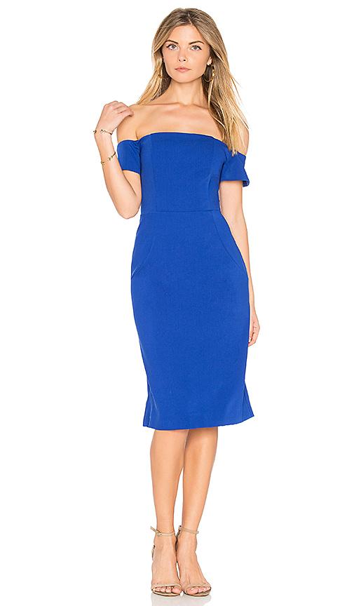 BB Dakota RSVP by BB Dakota Reaghan Dress in Blue