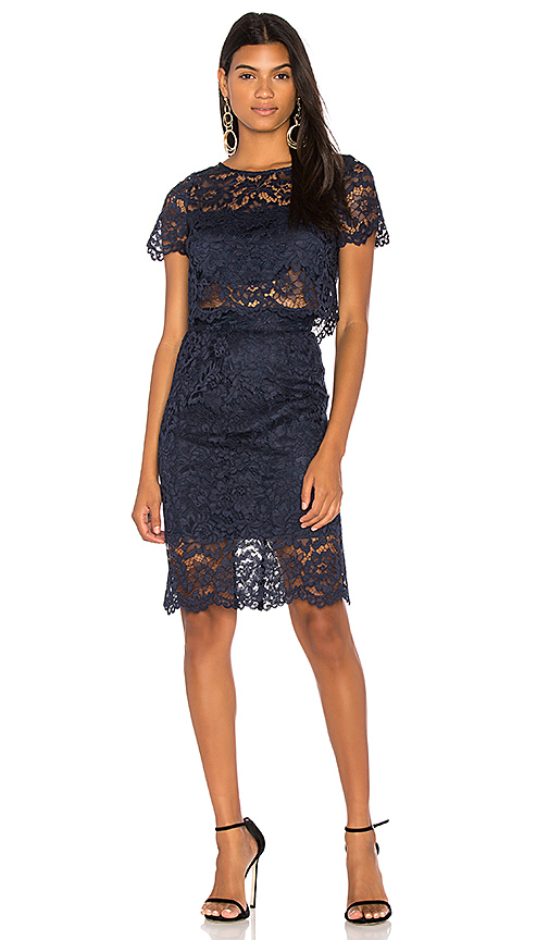 BB Dakota RSVP By BB Dakota Despina Dress in Navy